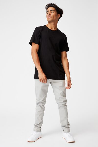 Skinny Stretch Chino, LIGHT GREY
