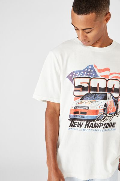Bondi Tee, VINTAGE WHITE/NEW HAMPSHIRE