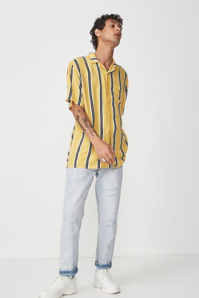 Festival Shirt, YELLOW STRIPE