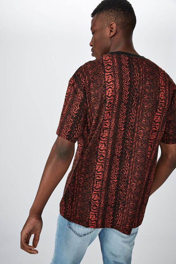 Festival Tee, RED ROCK VERTICAL STATIC