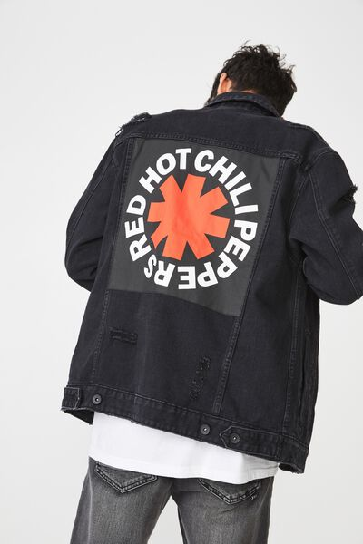 Rodeo Collaboration Jacket, RED HOT CHILLI PEPPERS/BLACK