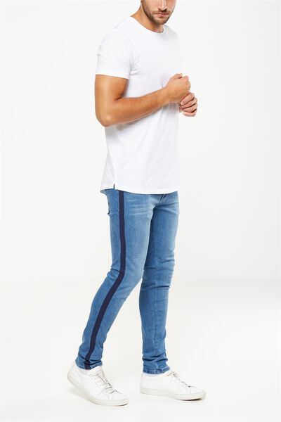 Slim Fit Jean, SIDEWAYS BLUE