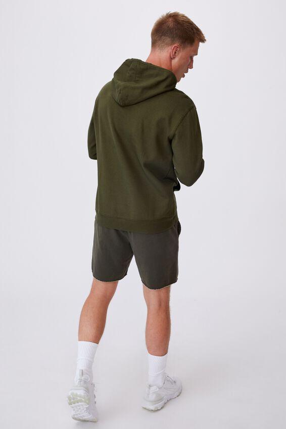 Fleece Pullover 2, WASHED KHAKI/STUDIO JOURNAL