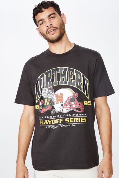 Tbar Sport T-Shirt, WASHED BLACK/PLAYOFF SERIES 1995