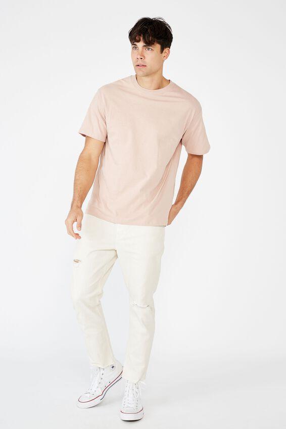 Essential Skate T-Shirt, DIRTY PINK