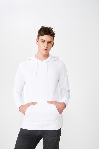 Fleece Pullover 2, WHITE