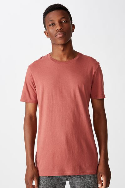 Essential Crew Tee, OX BLOOD