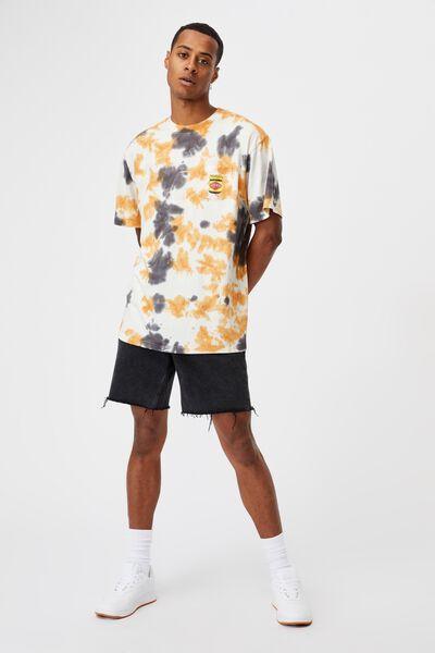 Special Edition T-Shirt, LCN VEG VINTAGE WHITE/VEGEMITE-TIE DYE JAR