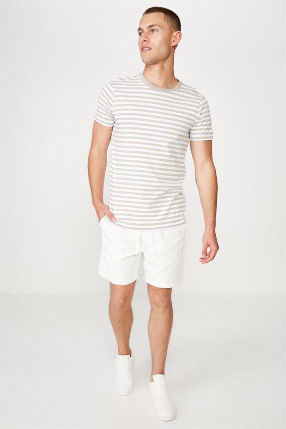 Easy Short, WHITE/TEXTURE