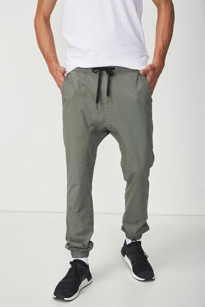 Drake Cuffed Pant, OLIVE