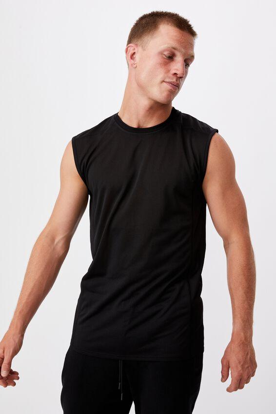 Active Tech Muscle, BLACK