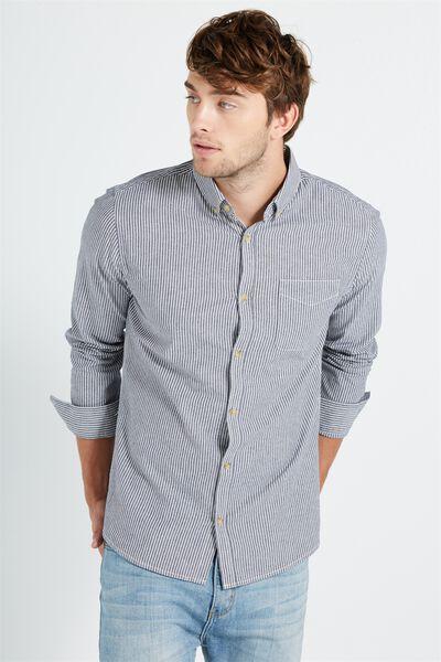 Brunswick Shirt 3, TEXTURED STRIPE