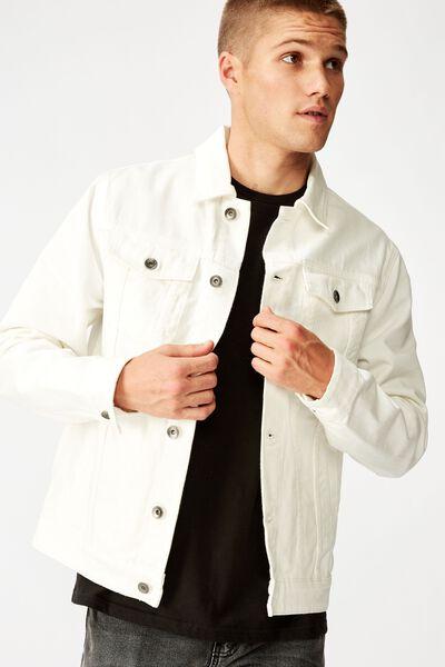 Rodeo Jacket, WHITE