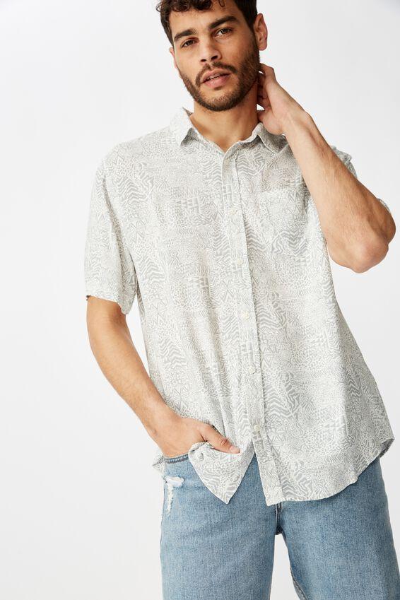 91 Short Sleeve Shirt, TRIBAL MASH UP