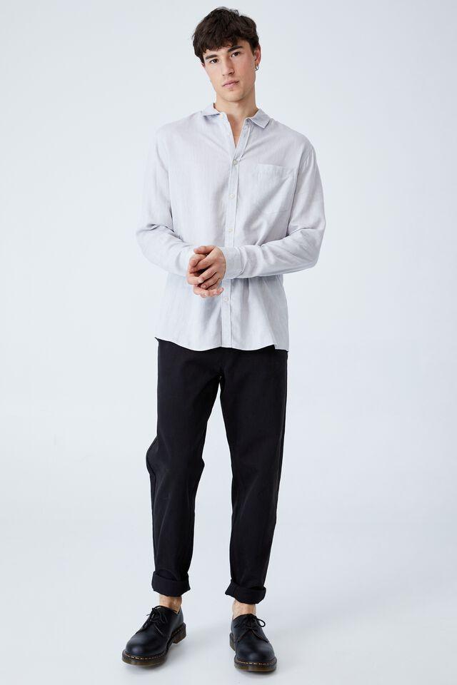 Ashby Long Sleeve Shirt, ICE GREY