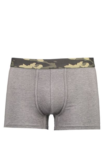 Single Pack Trunks 2, GREY MARLE/CAMO