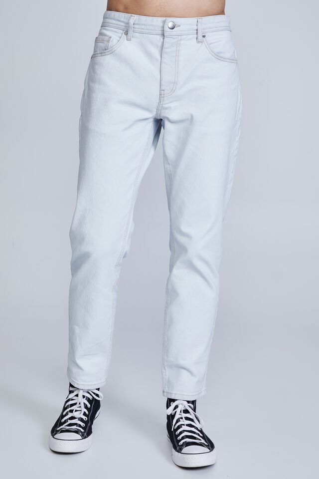 Beckley Straight Jean, STONE LIGHT BLUE