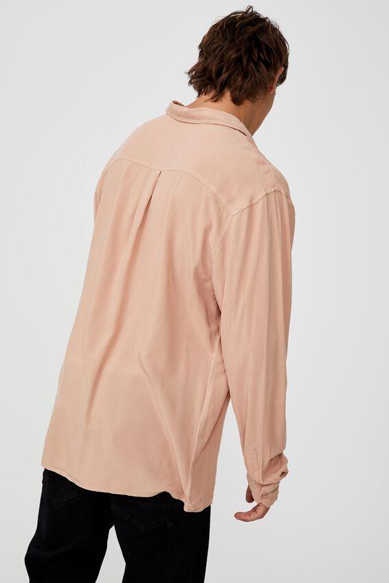 Cayman Long Sleeve Shirt, CLAY