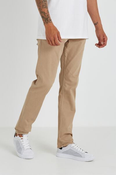Carter Relaxed Chino, DARK STONE