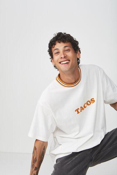 Dylan Tee, VINTAGE WHITE/TACOS