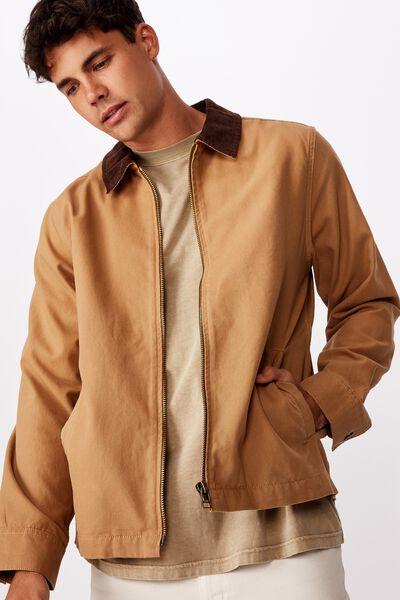 Workwear Jacket, TAN