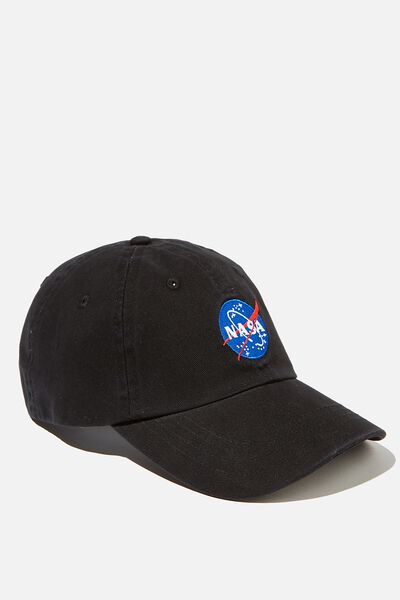 Special Edition Dad Hat, LCN NASA BADGE/BLACK