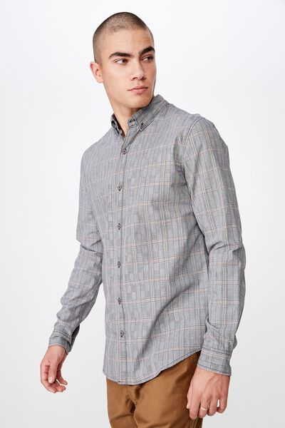 Brunswick Shirt 3, PRINCE OF WALES WHITE CHECK