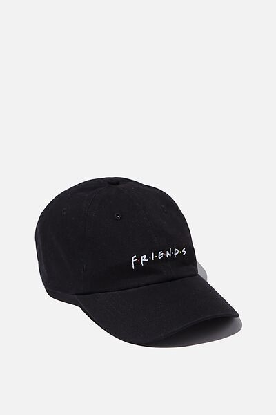 Special Edition Dad Hat, LCN WB FRIENDS/BLACK