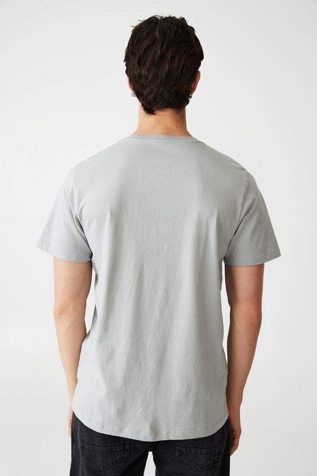 Organic Henley T-Shirt, BLUE HAZE