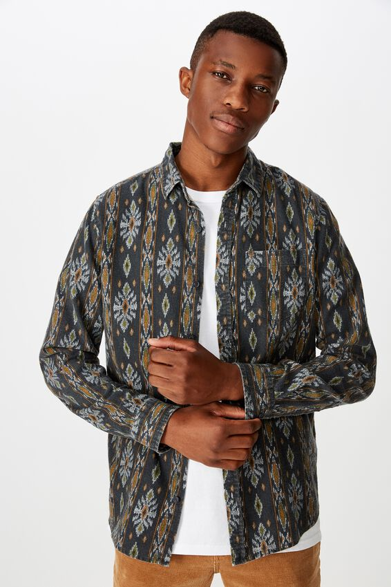Festival Long Sleeve Shirt, BAJA