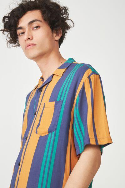 Festival Shirt, MULTI VERT STRIPE