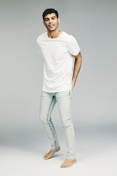Slim Fit Jean, MOTTLE BLUE