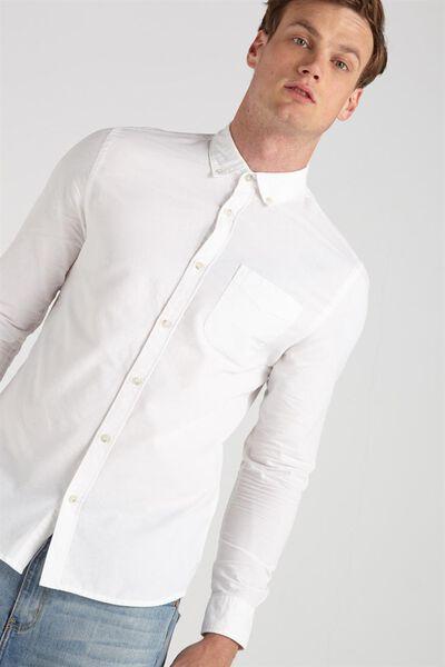 Brunswick Shirt 3, WHITE