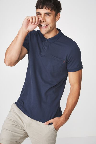 Icon Polo, NAVY/POCKET