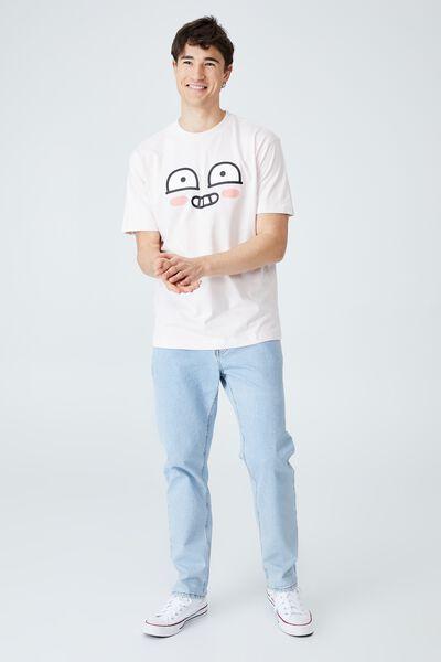 Kakao Friends T-Shirt, LCN KAK FROSTING/APEACH - FACE