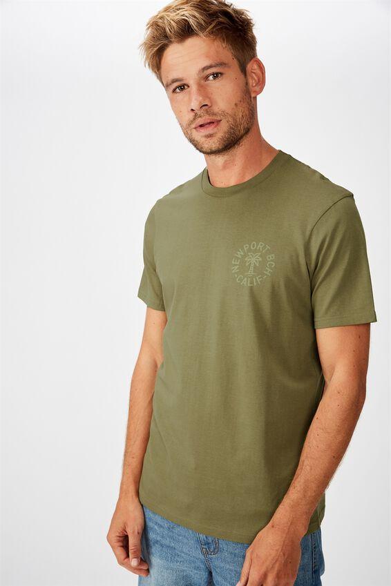 Tbar Moto T-Shirt, JUNGLE KHAKI/NEWPORT BEACH