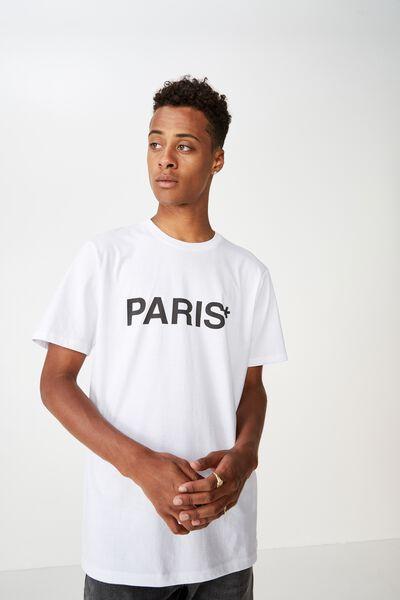 Urban T-Shirt, WHITE/PARIS*