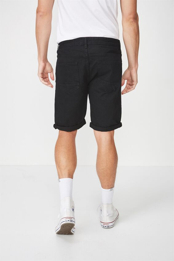 Roller Short, RIGID RAVEN BLACK