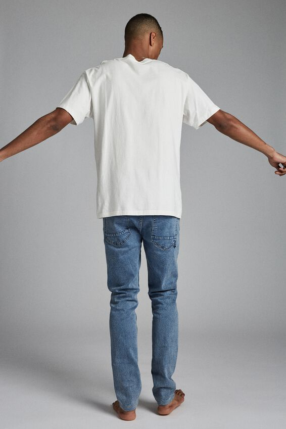 Super Skinny Jean, PALM BLUE