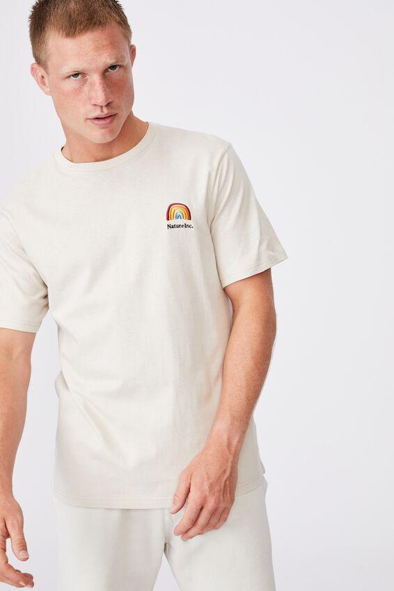 Tbar Art T-Shirt, BONE/NATURE INC