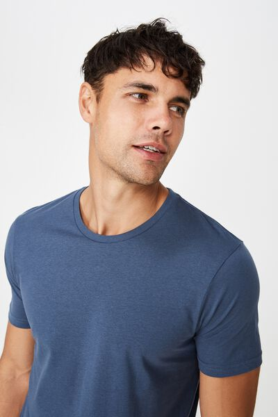 Essential Crew Tee, MOONLIGHT BLUE