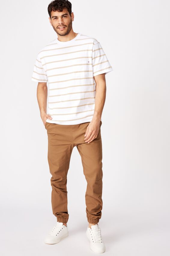 Drake Cuffed Pant, WASHED BISCUIT
