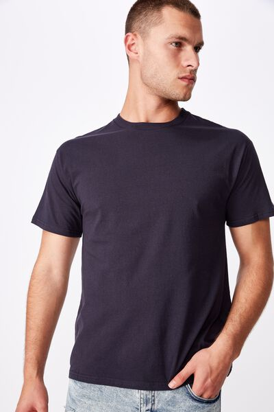 Essential Skate Tee, TRUE NAVY