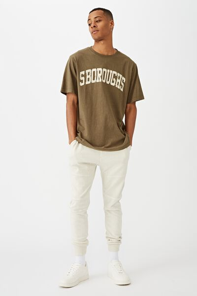 Bondi Tee, MILITARY/5 BOROUGHS CURVE
