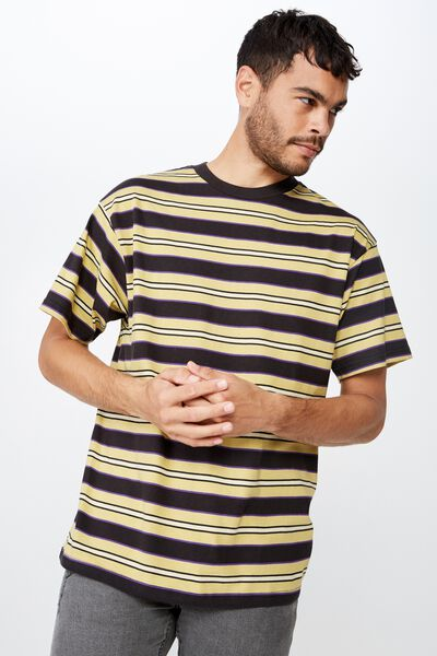 Dylan Tee, LIGHT GOLD/PRISM VIOLET/WASHED BLACK/SEA MIST STRI