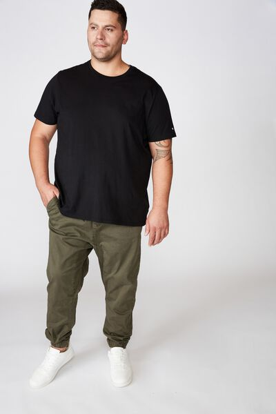 Bg Drake Cuffed Pant, WASHED OLIVE