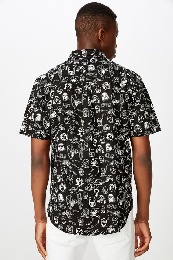 Collaboration Short Sleeve Shirt, STARWARS SKETCHES