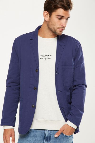 Wallace Blazer, NAVY