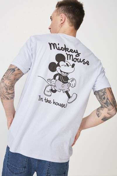 Tbar Collaboration Tee, LC PEARLWINKLE/MICKEY MOUSE IN THE HOUSE