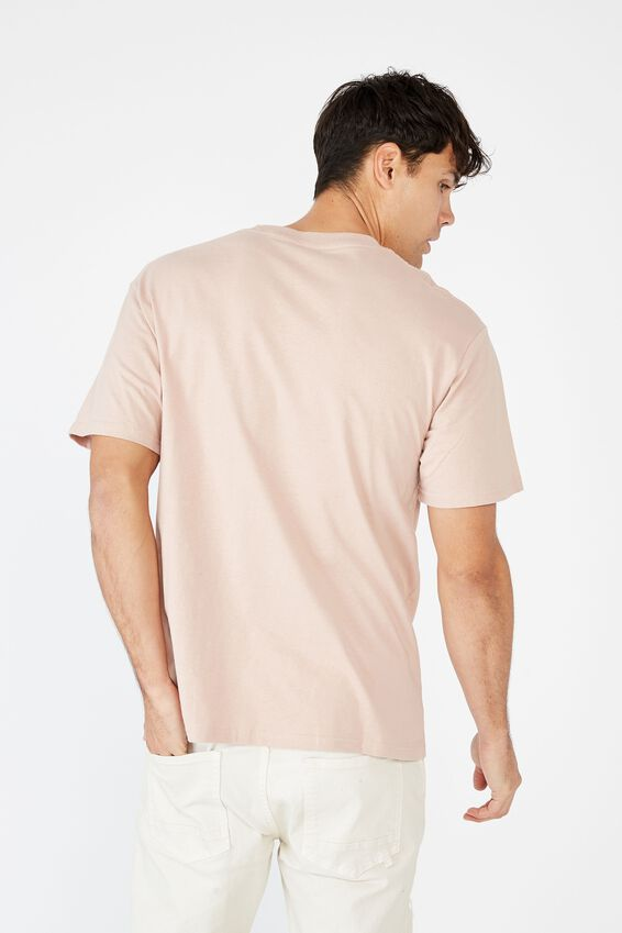 Essential Skate T-Shirt, DIRTY PINK